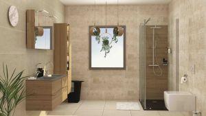 7 idées pour une touche végétale dans la salle de bains